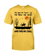 And Into The Forest I Go Classic T-Shirt front