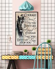 Don't Let Fear Stop You 11x17 Poster lifestyle-poster-6