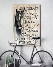 Don't Let Fear Stop You 11x17 Poster lifestyle-poster-7