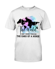 The Ears Of A Horse Classic T-Shirt front