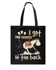 I Got The Horses Tote Bag thumbnail
