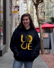 Love Horses Hooded Sweatshirt lifestyle-unisex-hoodie-front-2