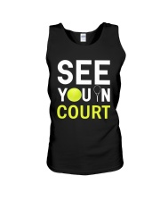 See you in Court Unisex Tank thumbnail