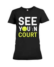 See you in Court Premium Fit Ladies Tee thumbnail