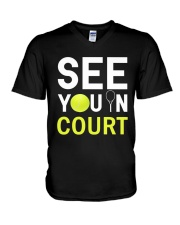 See you in Court V-Neck T-Shirt thumbnail
