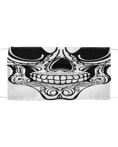 HALLOWEEN SKELETON TATTOO MASK - LIMITED EDITION