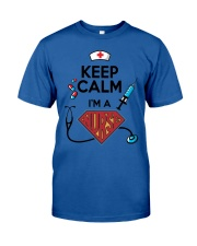 Keep Calm I'm A Super Nurse Classic T-Shirt thumbnail