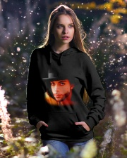 Love Oh Hooded Sweatshirt lifestyle-holiday-hoodie-front-5
