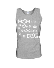 Mom Of A Spoiled Dog Unisex Tank thumbnail
