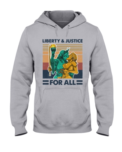 Liberty and Justice for all vintage