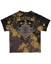 WARRIOR - SUBLIMATION All-over T-Shirt back