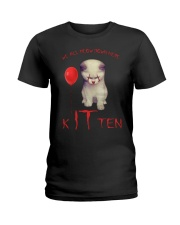 Kitten Ladies T-Shirt front