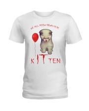 Kitten Ladies T-Shirt tile