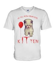 Kitten V-Neck T-Shirt thumbnail