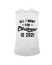 All I WANT - FOR Christmas IS 2021 Sleeveless Tee thumbnail