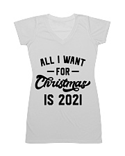 All I WANT - FOR Christmas IS 2021 All-over Dress thumbnail