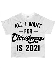 All I WANT - FOR Christmas IS 2021 All-over T-Shirt thumbnail