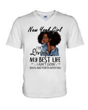 New York Girl V-Neck T-Shirt thumbnail