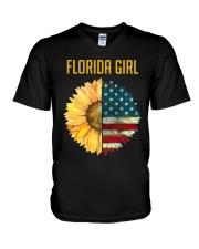 Florida Girl V-Neck T-Shirt thumbnail