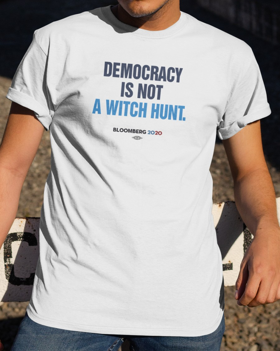 democracy is not a witch hunt fisher TX shirt