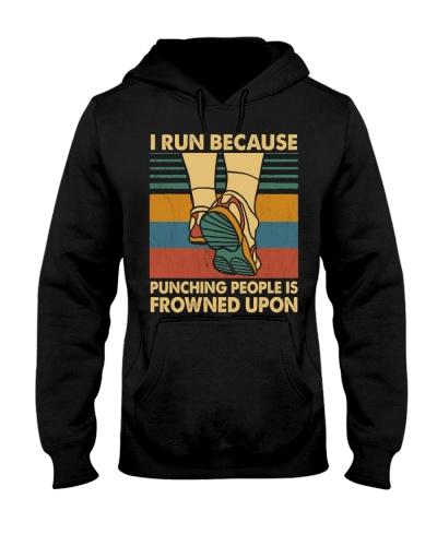 Running I Run Because Punching People