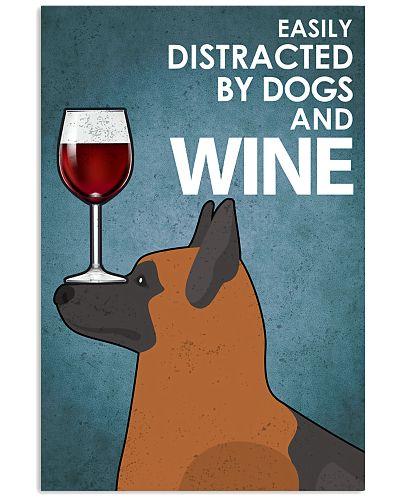 Dog K9 And Wine