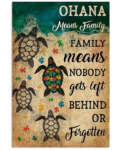 Autism Ohana Means Family