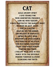 Cat Poster 11x17 Poster front