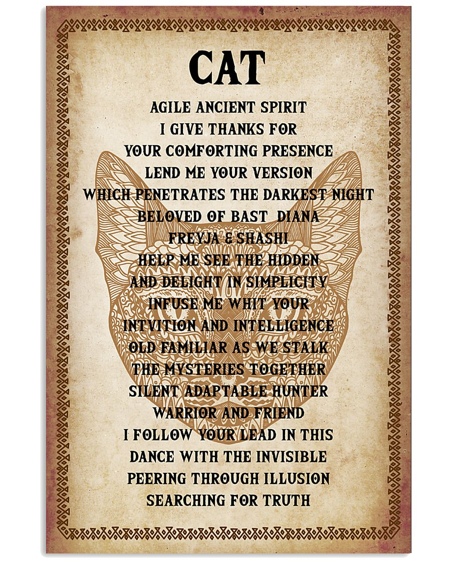 Cat Poster 16x24 Poster