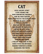 Cat Poster 16x24 Poster front