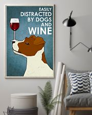 Dogs Jack Russell And Wine 16x24 Poster lifestyle-poster-1