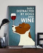 Dogs Jack Russell And Wine 16x24 Poster lifestyle-poster-2