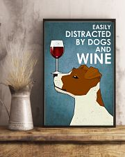 Dogs Jack Russell And Wine 16x24 Poster lifestyle-poster-3