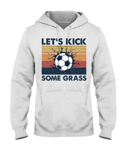 Soccer Let's Kick Some Grass