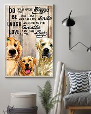 Dog Labrador Laugh Love Live 16x24 Poster lifestyle-poster-1