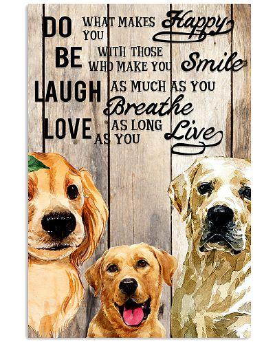 Dog Labrador Laugh Love Live