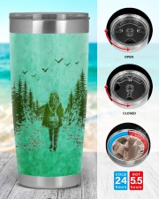 Camping Find My Soul 20oz Tumbler aos-20oz-tumbler-lifestyle-front-44