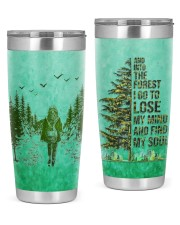 Camping Find My Soul 20oz Tumbler front