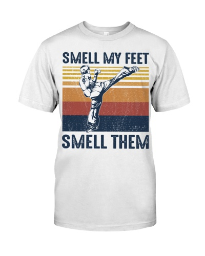 Boxing Smell My Feet Smeel Them