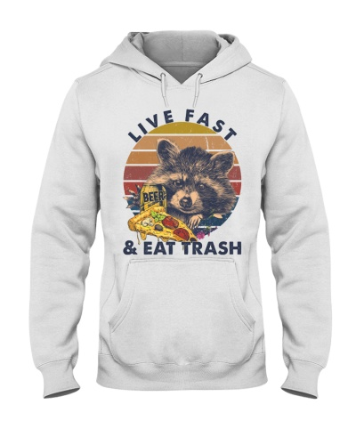 Camping Live Fast And Eat Trash
