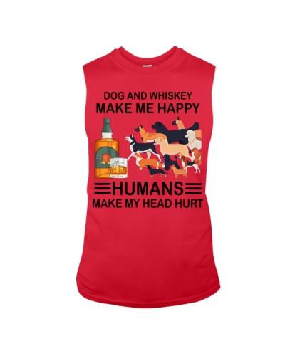 Dog And Whiskey Make Me Happy