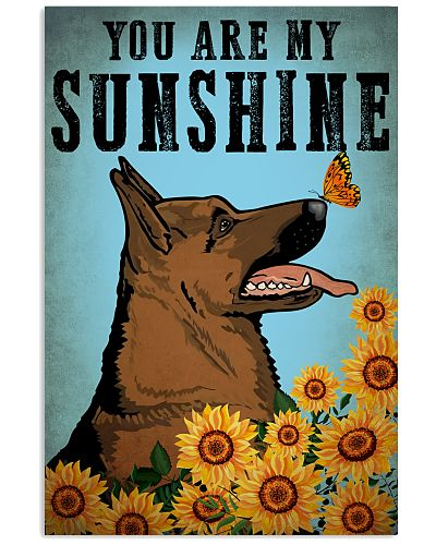 Dog K9 You Are My Sunshine