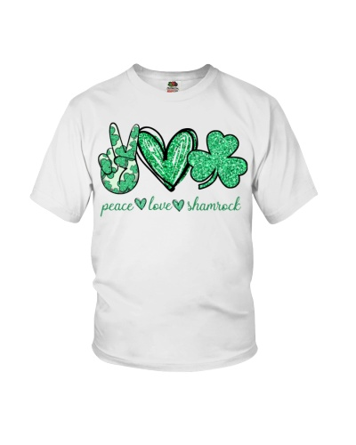 Peace Love Shamrock: Printed