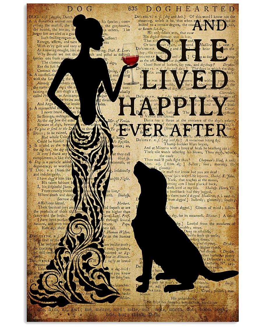Dog Happily Ever After 16x24 Poster
