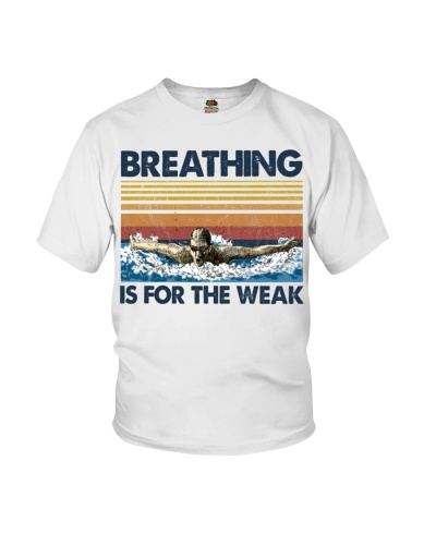 Swimming Breathing Is For The Weak