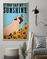 Dog Pug You Are My Sunshine 16x24 Poster lifestyle-poster-1