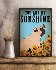 Dog Pug You Are My Sunshine 16x24 Poster lifestyle-poster-3