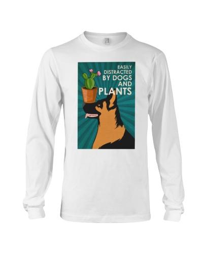 Dog K9 And Plants