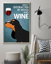 Dog Cocker Spaniel And Wine 16x24 Poster lifestyle-poster-1