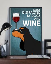 Dog Cocker Spaniel And Wine 16x24 Poster lifestyle-poster-2